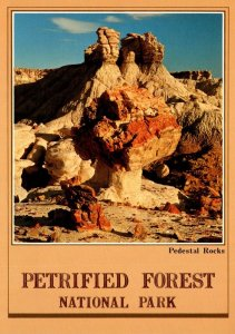 Arizona Petrified Forest National Park Pedestal Rocks