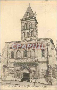 Postcard Old Bordeaux Basilica Saint Seurin