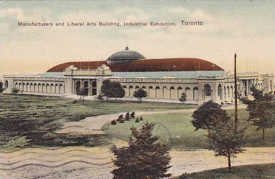 Manufacturers and Liberal Arts Building, Industrial Exhibition, Toronto, Onta...