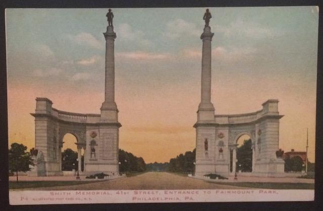 Smith Memorial 41st Street Philadelphia PA Illustrated Post Card Co P4