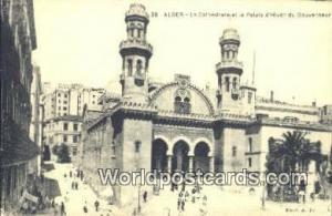 Alger Algeria, Africa, La Cathedrale et le Palais d'Hiver du Gouverneur  La C...