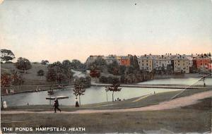 United Kingdom, Great Britain, England The Ponds Hampstead Heath  The Ponds H...