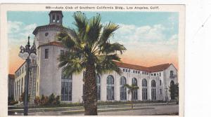 LOS ANGELES, California 1910-20s; Auto Club of Southern California Bldg.