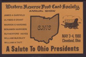 Western Reserve Post Card Show,Cleveland,OH 1980
