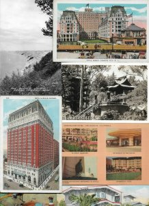 USA Atlantic City California Chicago And More Vintage Postcard Lot of 20 01.13