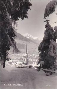 Austria Landeck Tirol Real Photo