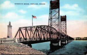 Oregon Portland Interstate Bridge