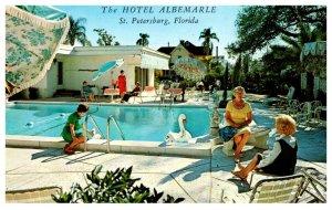 Florida  St. Petersburg , Hotel Albemarle , Poolside
