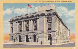 Post Office And Federal Building Spokane Washington