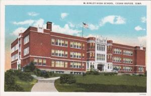 Iowa Cedar Rapids McKinley High School Curteich