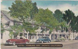 California San Jacinto Hotel Vosburg Old Cars 1958 sk6508