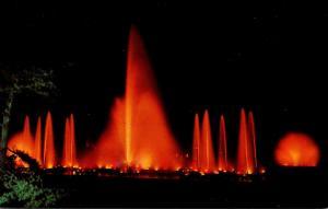 Pennsylvania Kennett Square Longwood Gardens Night Fountain DIsplay