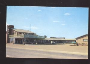 GROOM TEXAS GOLDEN SPREAD MOTEL ROADSIDE ROUTE 66 OLD ADVERTISING POSTCARD