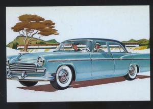 1956 CHRYSLER WINDSOR WINDSOR CAR DEALER ADVERTISING POSTCARD '56 MOPAR