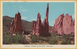 Colorado Springs, Colo., Interior, Garden of the Gods - 1968