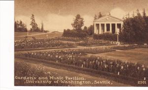 Gardens And Music Pavilion, University Of Washington, SEATTLE, Washington, 19...