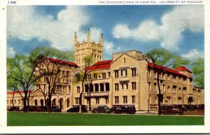 Illinois Chicago The Chicago Lying-In Hospital University Of Chicago 1937