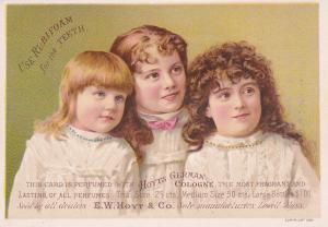 TC: LOWELL , Massachusetts , 1890s ; German Colonge & Rubifoam for teeth