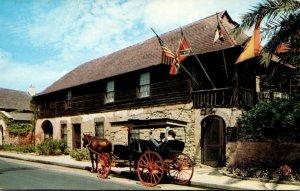 Florida St Augistine Oldest House