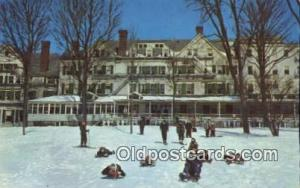 The Northfield Hotel, East Northfield, Massachusetts, MA USA Winter Sports Po...