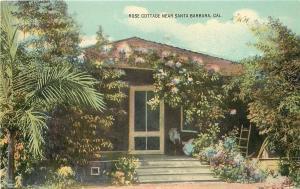 Santa Barbara CaliforniaRose Cottage c1910