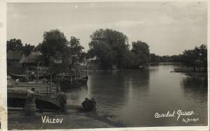 ukraine, VYLKOVE VÂLCOV, Gusev Channel, Fisher (1930s) RPPC