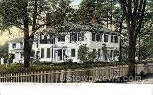 Home of Ralph Waldo Emerson Concord MA Unused