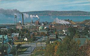 Panorama View Of Grey Street, Dalhousie, New Brunswick, Canada, 1940-1960s