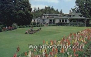 British Columbia, Canada Residence, Butchart Gardens Victoria  Residence, But...
