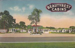 Florida Bayard Beautyrest Cabins 1945