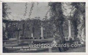 Jardin Botanico, Prado Rosaleda Montevideo Uruguay, South America 1910