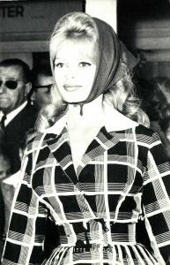 French Actress Brigitte Bardot (1960s) Netter's Star RPPC