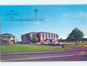 Pre-1980 MOTEL SCENE Charlottetown Prince Edward Island PE B6931