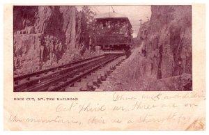 Massachusetts  Rock Cut , Mt. Tom Railroad