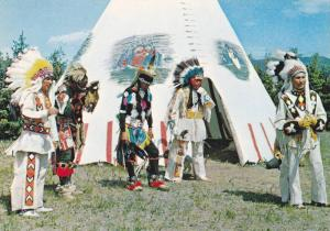 5 North American Indians (Plains) , Canada , 50-70s