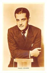Ramon Novarro (1899-1968) Mexican-born silent film star, Nostalgia Reprint