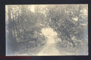 RPPC OXFORD OHIO JR PATTERSON FARM VINTAGE REAL PHOTO POSTCARD NO. 2 BRIDGE