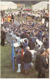 Young Bandsmen , Papal visit , UK , 1982 ; Ninian Park , Cardiff