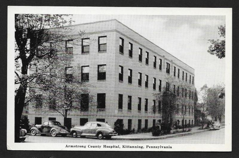 Armstrong County Hospital Kittanning PA Unused c1920s