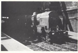 LMS 4-6-0 45500 Royal Mail Train Manchester Victoria Station Southport Postcard