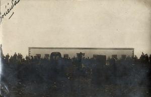 syria, AS-SUWAYDA السويداء, Unknown Building (1926) RPPC Postcard