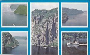 Marjolaine II, Croisieres sur le Saguenay, Quebec, Canada , PU-1974