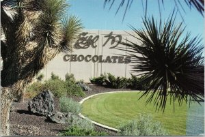 Ethel M. Chocolate Factory Henderson NV Nevada Vintage UNUSED Postcard F45