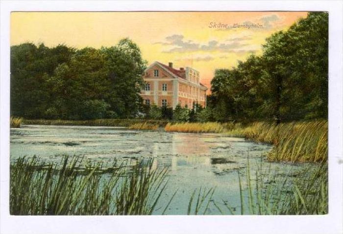 Turnbyholm, Skane, Sweden, 1900-1910s