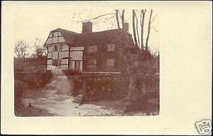 kent, BRENCHLEY, Lowlands, House (1905) RPPC