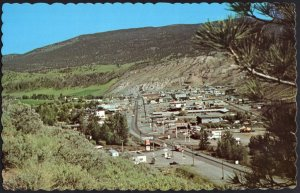 BC CACHE CREEK Panoramic View Junction of Hwys 97 and Trans Canada 1950s-1970s