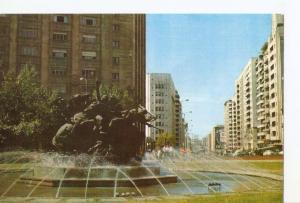Postal 030941 : Montevideo (Uruguay). Monumento El Entrevero Escultor Jose P....