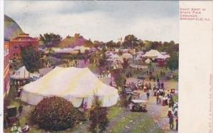 Illinois Springfield Snap Shot In State Fair Grounds 1909