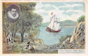 Henry Hudson's Half Moon Hudson River 1600 Ship Postcard Post Card Hudson Riv...