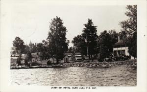 RP, Lakeview Hotel, GLENALDA, Ontario, Canada, PU-1951